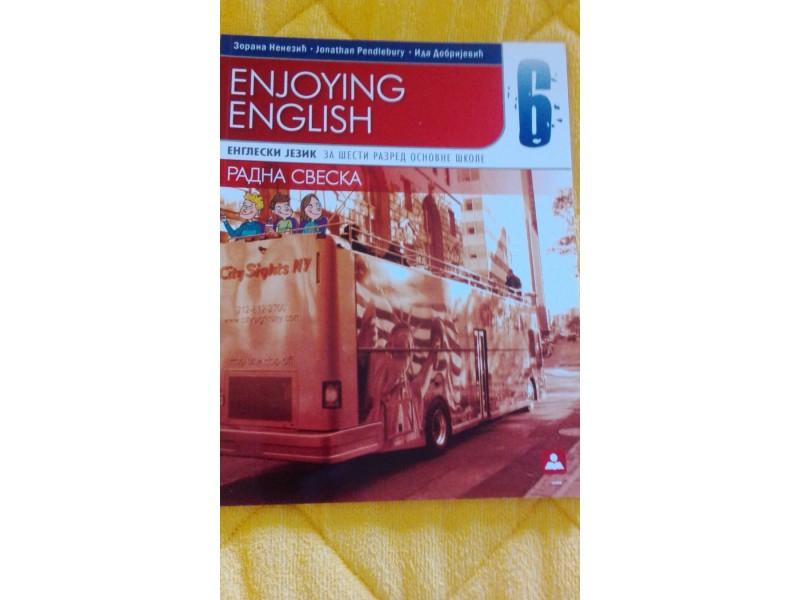 Enjoyng English 6 novo! novo!  novo!