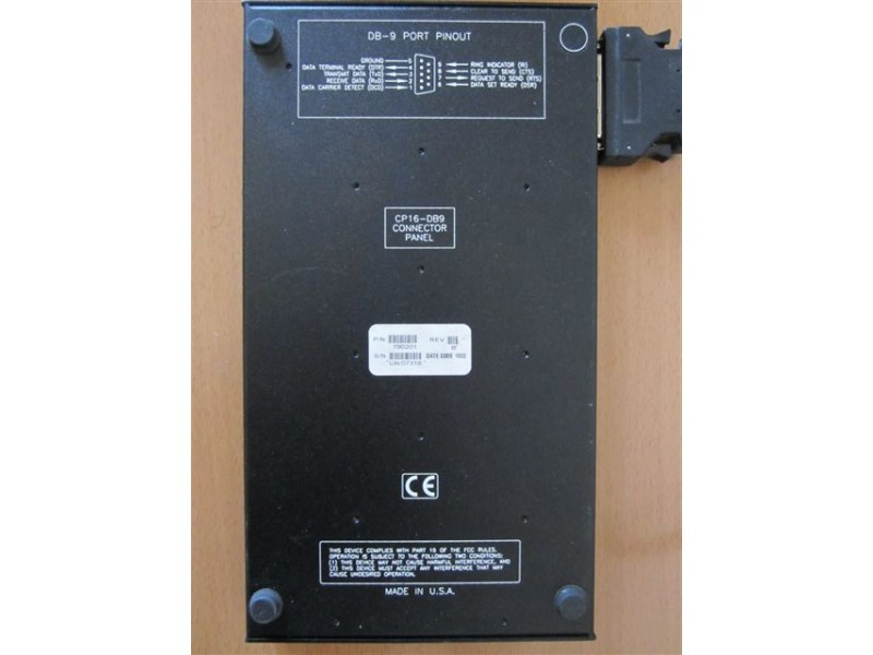 Equinox CP16-DB9 Multiport Serial Adapter Bulk 790201