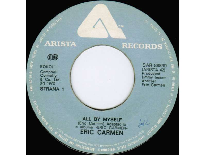 Eric Carmen - All By My Self