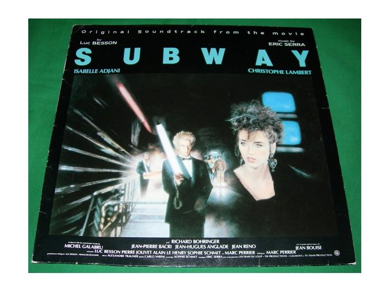 Eric Serra - Subway (Original Soundtrack From The Movie)