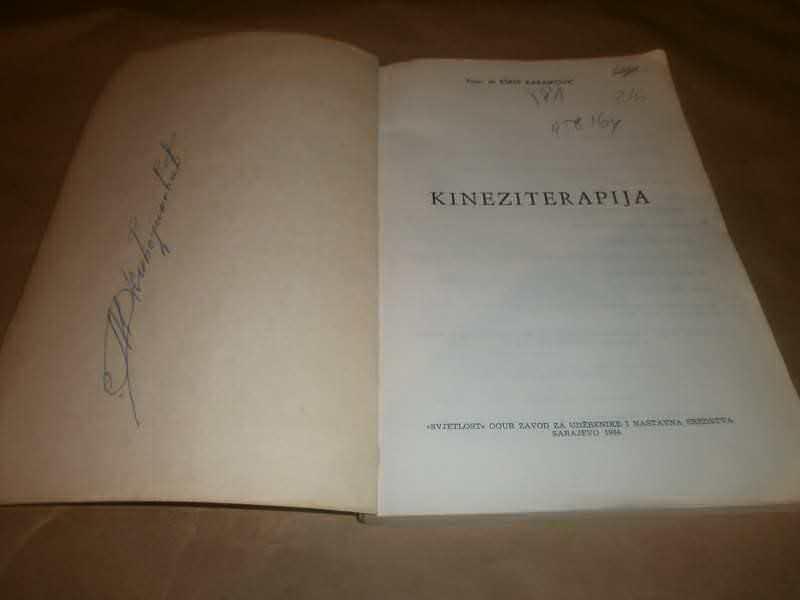 Esref Karaikovic    KINEZITERAPIJA