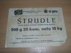 Etiketa - 0008 - Štrudle - Lasta - Čapljina