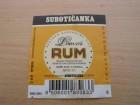 Etiketa - 0030 - Domaći rum - Subotičanka