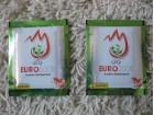 Euro 2008 - 2 neotvorene kesice - zelene