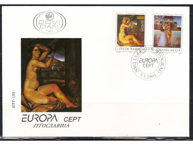 Europa CEPT 1993.,FDC