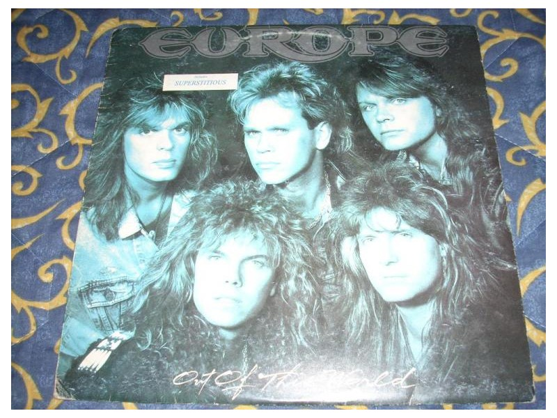Europe-Out Of This World LP