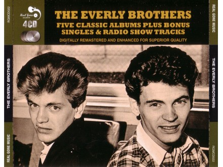 Everly Brothers - Five Classic Albums Plus Bonus Singles & Radio Show Tracks