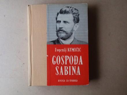 Evgenij Kumičić  - GOSPOĐA SABINA