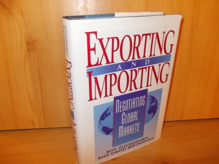 Exporting and importing negotiating in global markets
