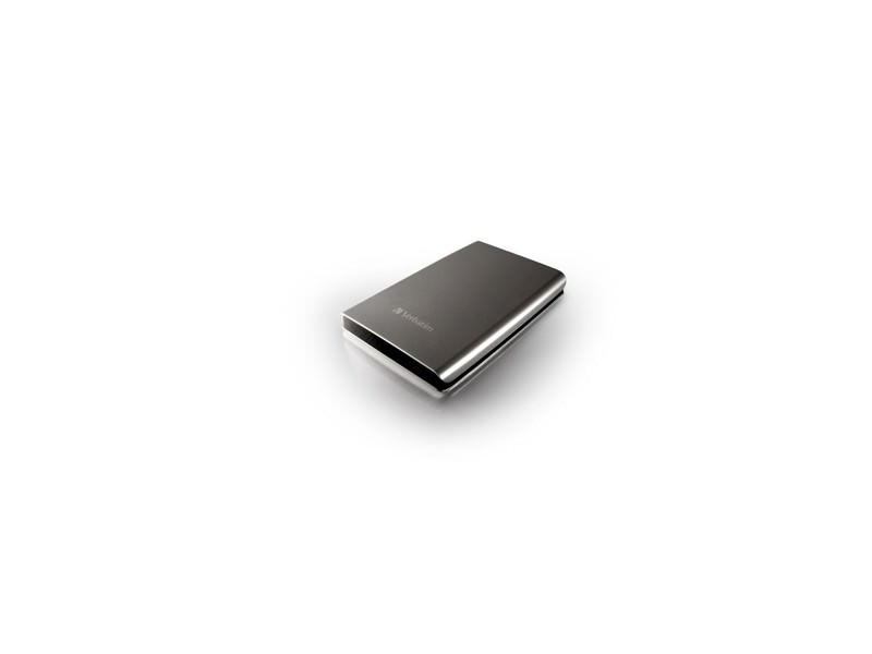 External 500GB 2.5` HDD Verbatim 53021 USB 3.0 Silver Black