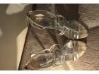 Extra srebrne QUIZ sandale!