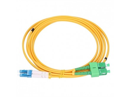 Extralink Patchcord SM LC/UPC-SC/APC DUP 3.0mm, 2m