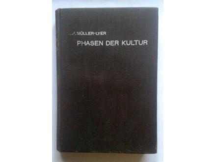 F. Muller-Lyer, PHASEN DER KULTUR