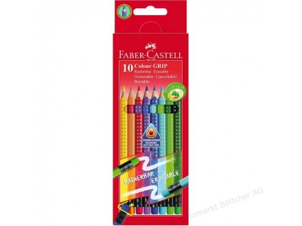 FABER CASTELL Bojice Erasable Grip 1/10 116613