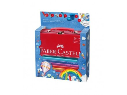 FABER CASTELL Colouring set Metal Box 201312
