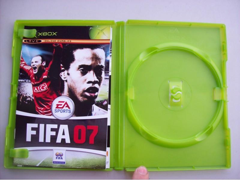 FIFA 07  Xbox kutija za disk