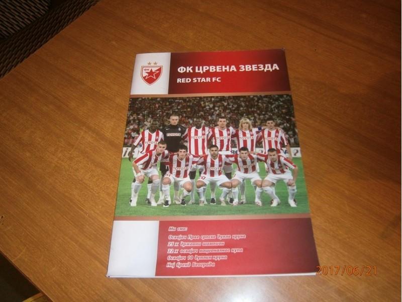 FK Crvena zvezda - Brošura (2006/2007 ili 2007/2008)