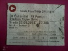 FK Cukaricki - FK Partizan