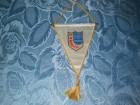 FK Radnicki Pirot zastavica iz 1981 - 23x15 sm