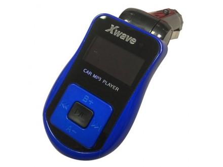 FM transmiter za kola Xwave BT64 blue