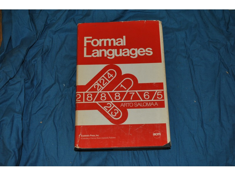 FORMAL LANGUAGES - A.SALOMAA