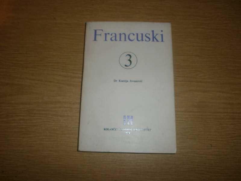 FRANCUSKI,KNJIGA BROJ 3