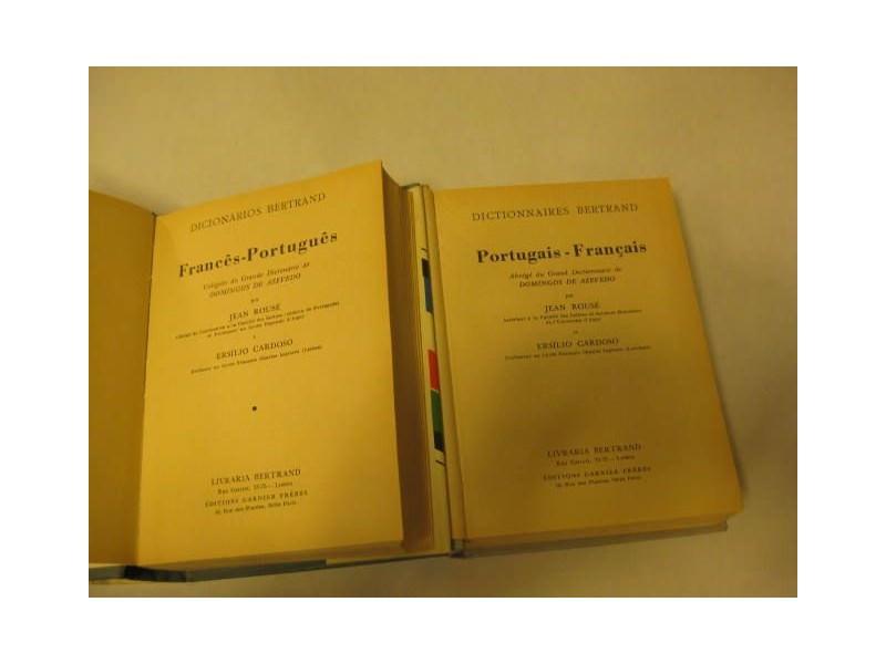 FRANCUSKO-PORTUGALSKI,PORTUGALSKO-FRANCUSKI RECNICI 1,2