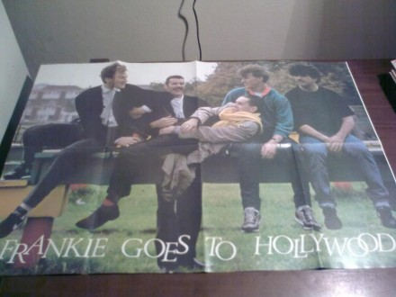 FRANKIE GOES TO HOLLYWOOD  POSTER
