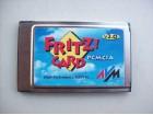 FRITZ  ISDN pcmcia kartica za laptop + kabal
