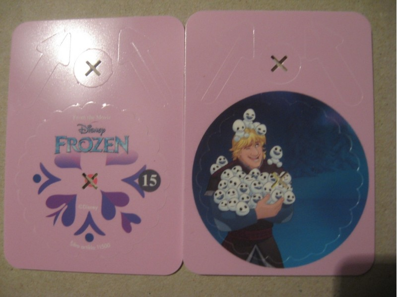 FROZEN - DOUBLE TOKEN - SLICICA 15  + SPINNER