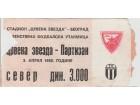 FUDBAL: CRVENA ZVEZDA - PARTIZAN 03.04.1988