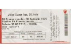 FUDBAL: CRVENA ZVEZDA - RADNICKI 1923 (Kg.) 30.03.2013