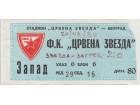FUDBAL: CRVENA ZVEZDA - ZAGREB 20.08.1980