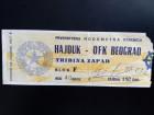 FUDBAL: HAJDUK (Split) - OFK VOJVODINA 30.08.1981