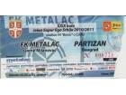 FUDBAL: METALAC - PARTIZAN 25.05.2011