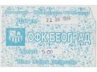 FUDBAL: OFK BEOGRAD - BORAC (Cacak) 22.09.1999