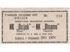 FUDBAL: OSIJEK - DINAMO (Vinkovci) 21.09.1986