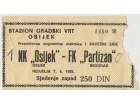 FUDBAL: OSIJEK - PARTIZAN 07.04.1985