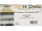 FUDBAL: PARTIZAN - RADNICKI (Kragujevac) 25.08.2013