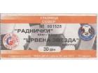 FUDBAL: RADNICKI (Kragujevac)- CRVENA ZVEZDA 26.05.2001