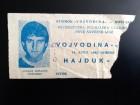 FUDBAL: VOJVODINA - HAJDUK (Split) 14.04.1982