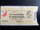 FUDBAL: VOJVODINA - PORTADOWN 24.07.1996