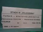 FUDBAL-VOJVODINA-SLOVENIJA turnir`BRATSTVO-JEDINSTVO`80