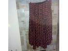Falte!! odlična crno-crvena INDICOM suknja M
