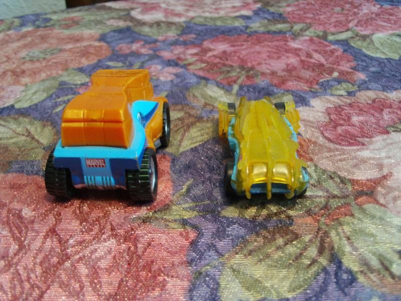 Fantastic 4 -2 vozila Thing -Human Torch