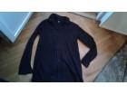 Fantasticna crna kosulja - haljina- tunika  M