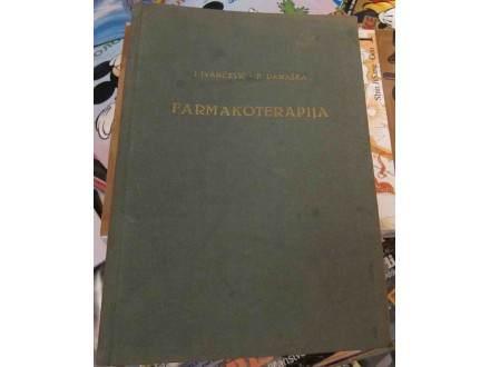 Farmakoterapija - I.Ivančević - R.Damaška