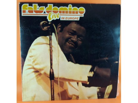 Fats Domino ‎– Fats Domino Live In Europe, LP