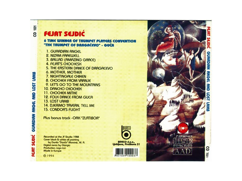 Fejat Sejdić - Guardian Angel and Lost Lamb