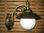 Fenjer - zidna lampa 1/3 K-zuto